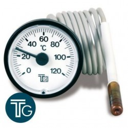 Termometro Ø40 T&G 0-120º