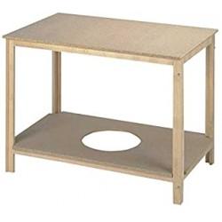 Mesa camilla con tarima...